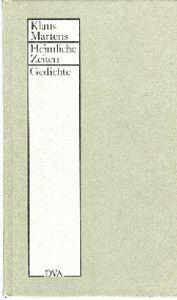 Book Cover: Heimliche Zeiten