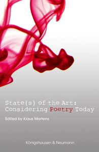 Book Cover: State(s) of the Art: Considering Poetry Today