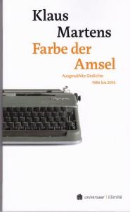 Book Cover: Farbe der Amsel