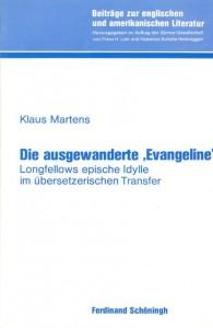 "Book Cover: Die ausgewanderte ""Evangeline"""